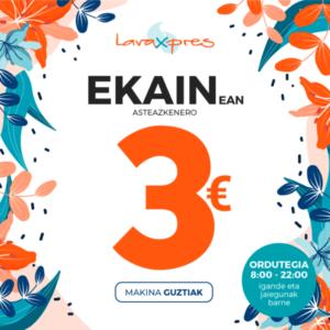 Guztia 3 eurotan
